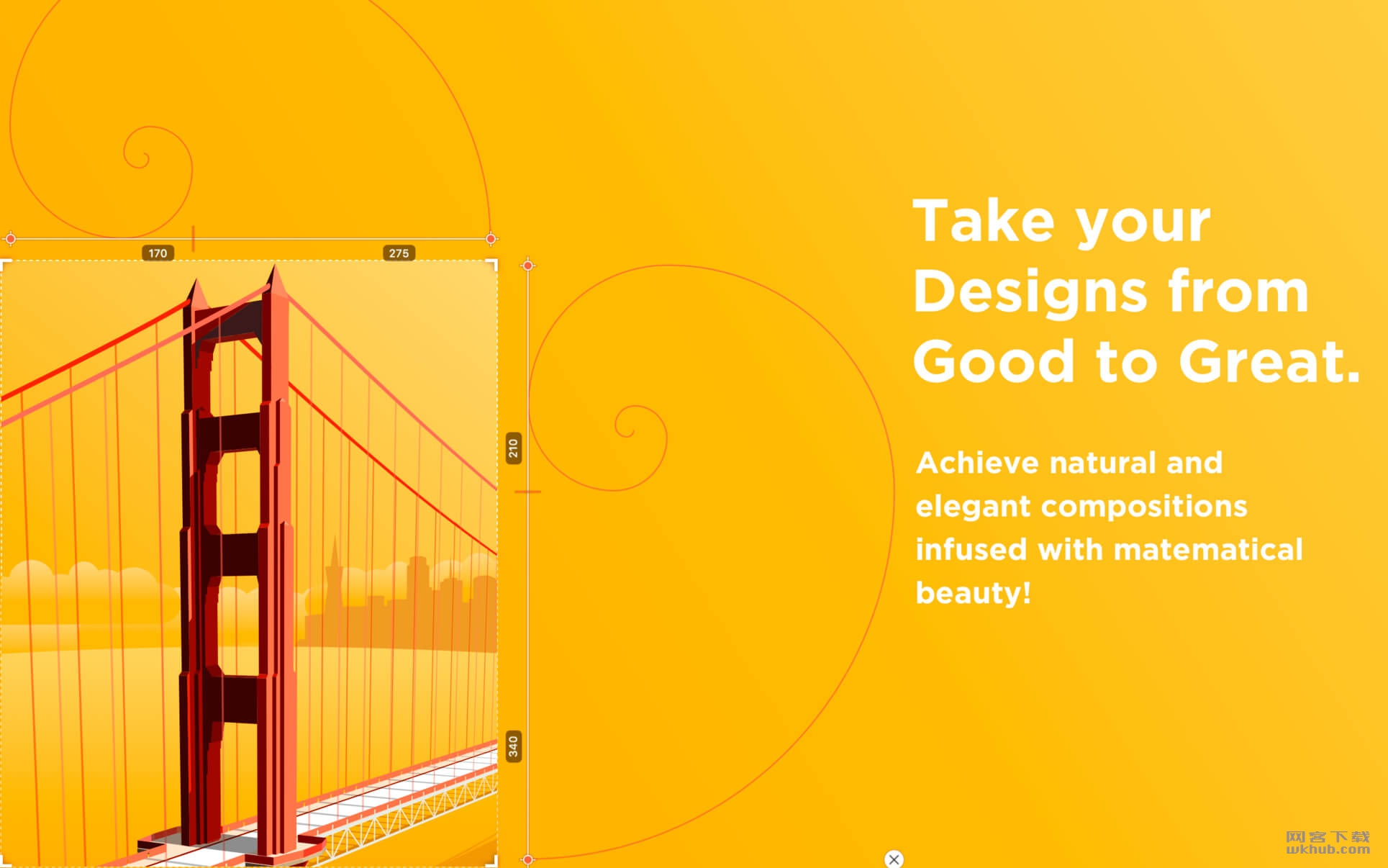Goldie App 1.5.1 黄金比例分割设计工具