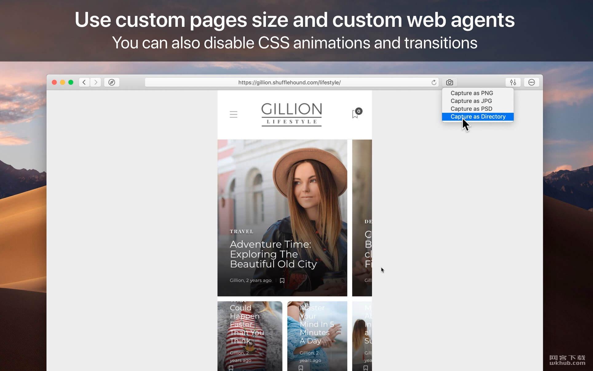 WebToLayers 1.1.1 网页转Photoshop文档工具