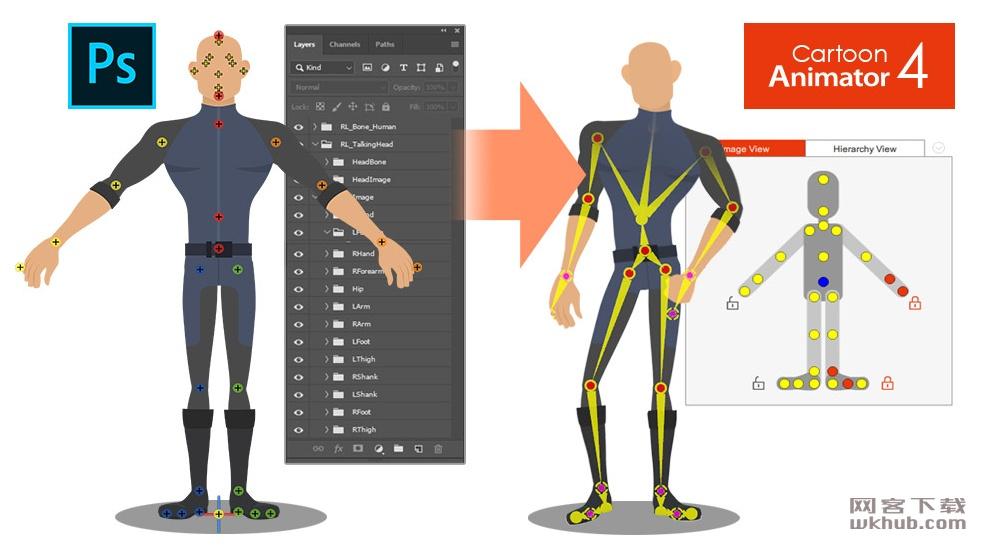 Reallusion Cartoon Animator 4.02.0627.1 简单易用的二维动画软件