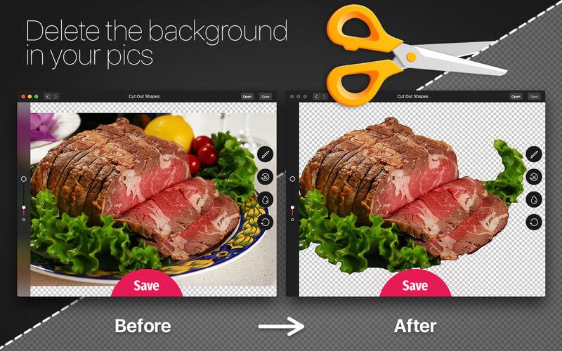 Cut Out Shapes 8.3.1 简单易用的抠图工具