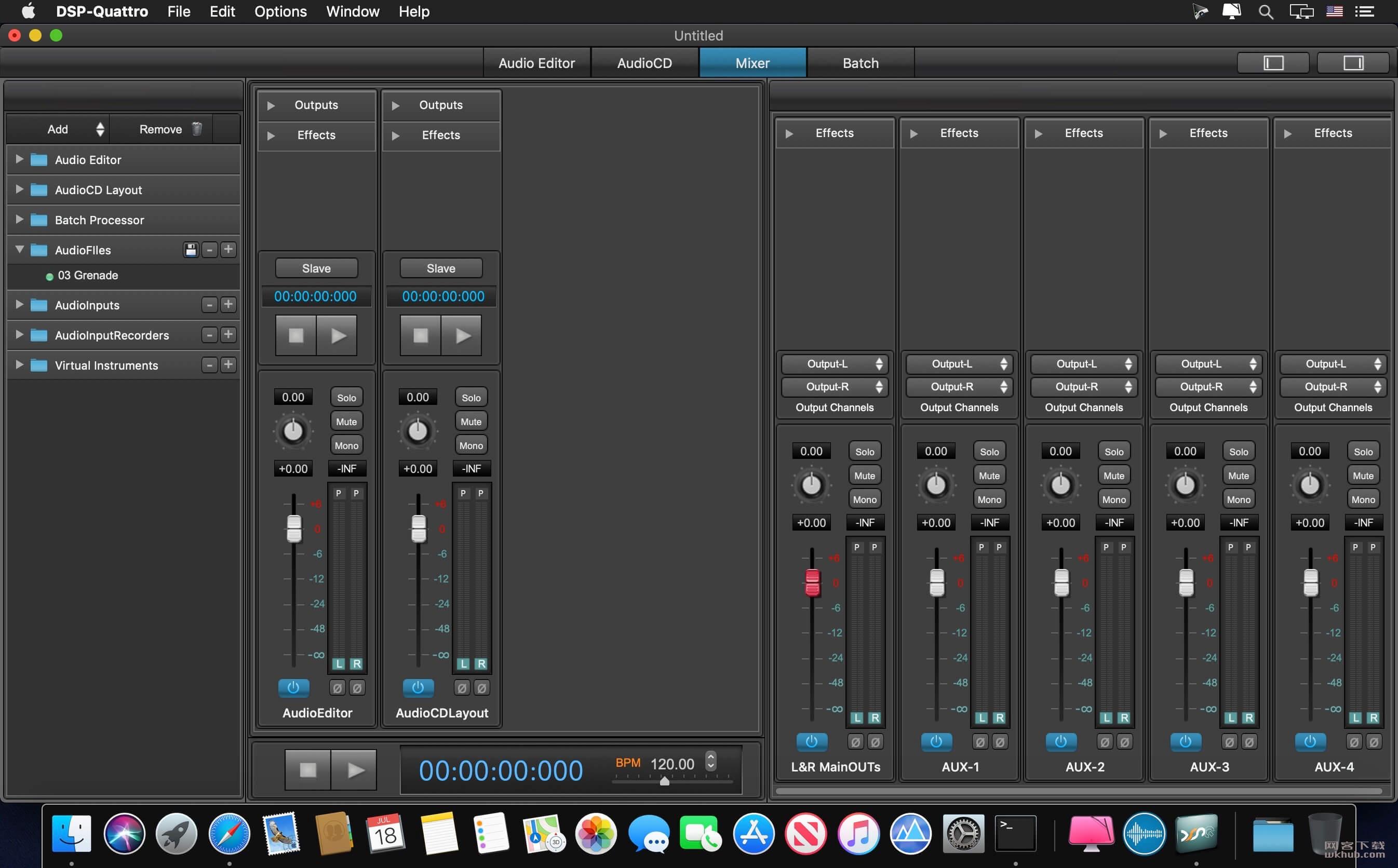 DSP-Quattro 5.2.1 音频编辑工具