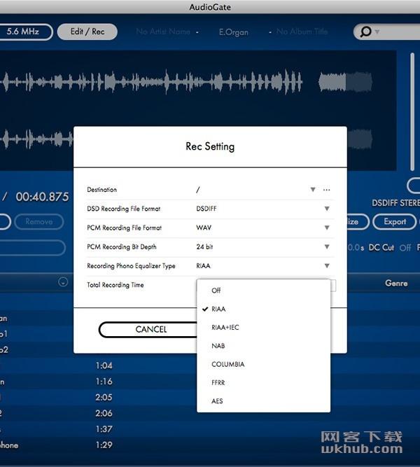 Korg Audiogate 4.0.3 高清音乐播放器