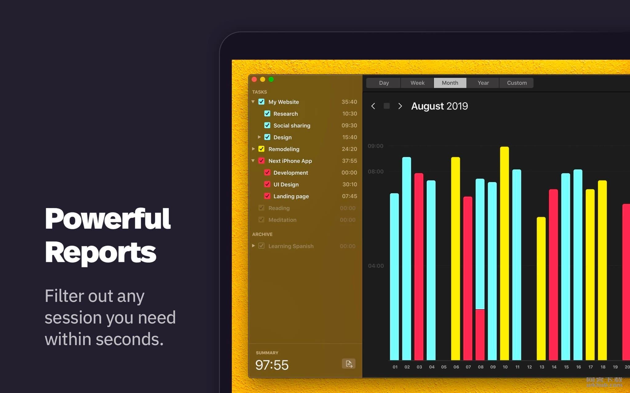 Klokki 1.1.3 全自动时间追踪应用