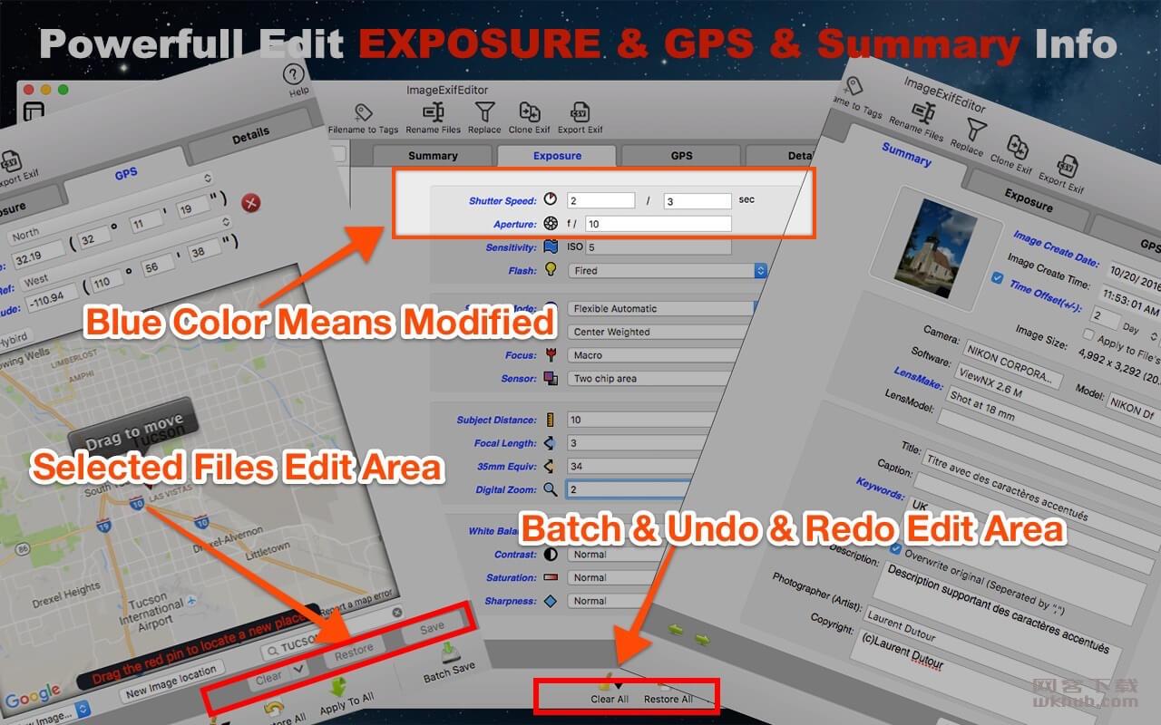 Image Exif Editor 5.0.0 照片元数据编辑工具