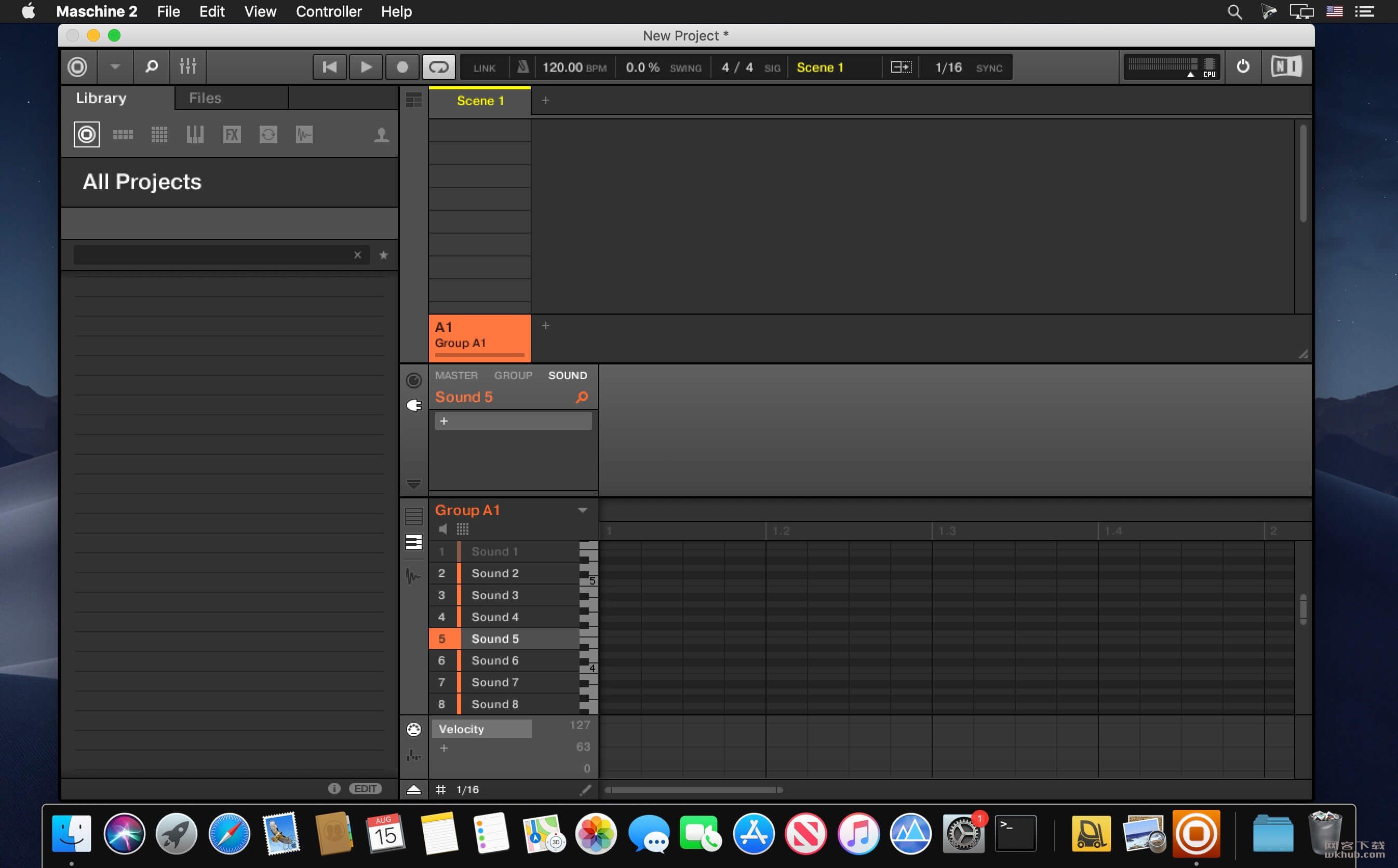 Native Instruments Maschine 2.10.0 优秀的音频制作系统