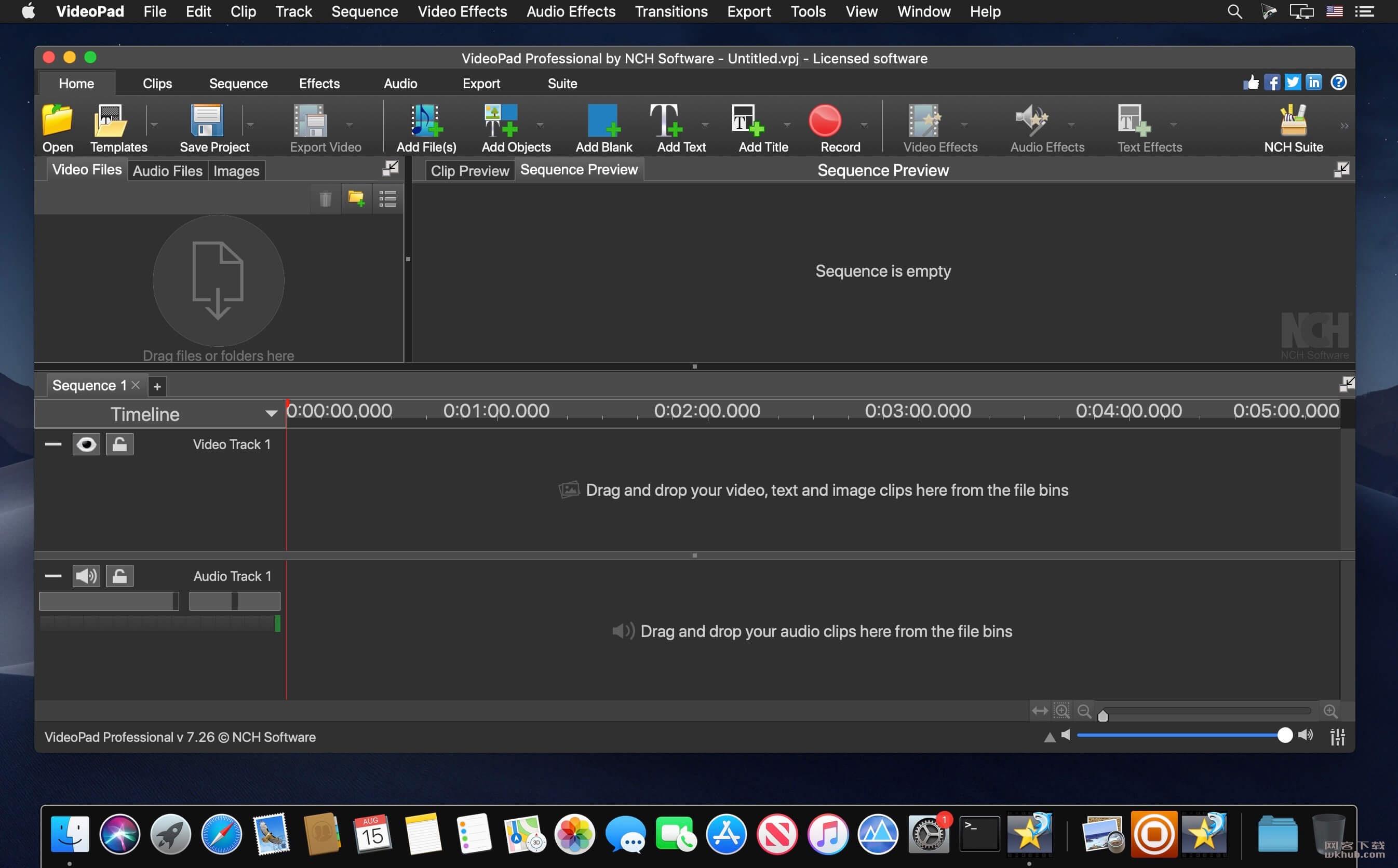 NCH VideoPad Pro 7.26 视频编辑工具