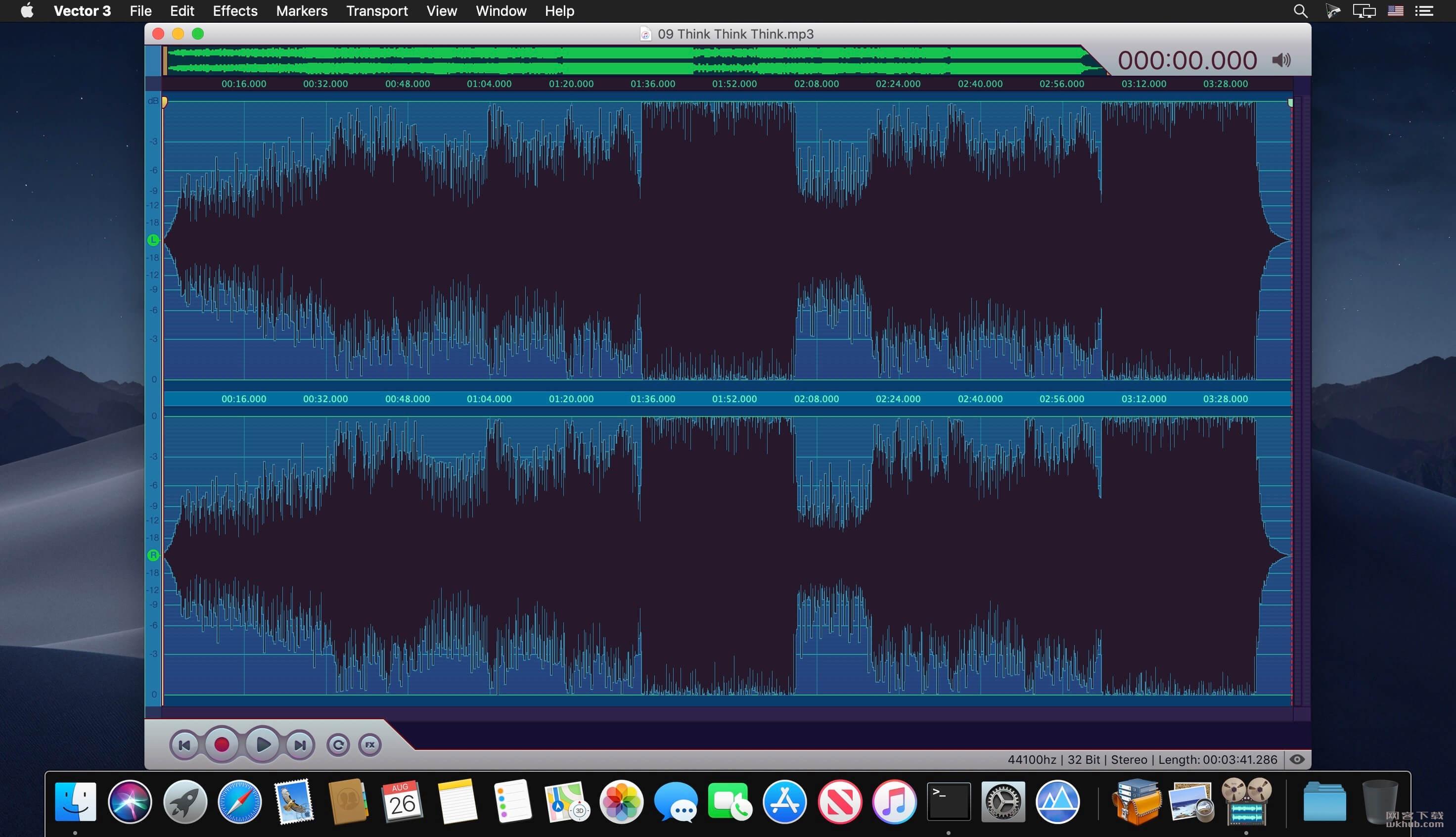 Vector 3.5 音频编辑工具