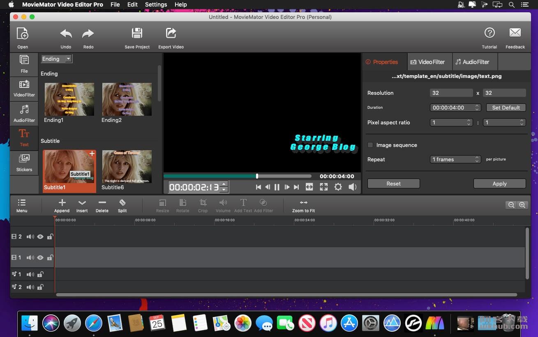 MovieMator Video Editor Pro 2.8.0 优秀的视频编辑工具