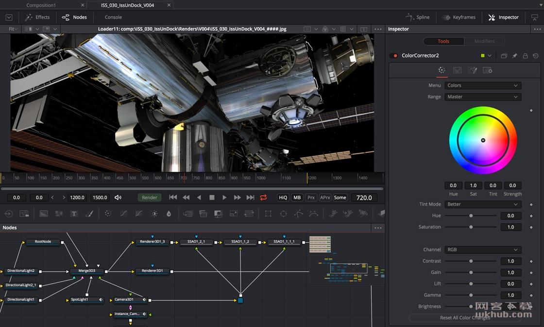 Blackmagic Design Fusion Studio 16.1.0 影视后期特效合成工具