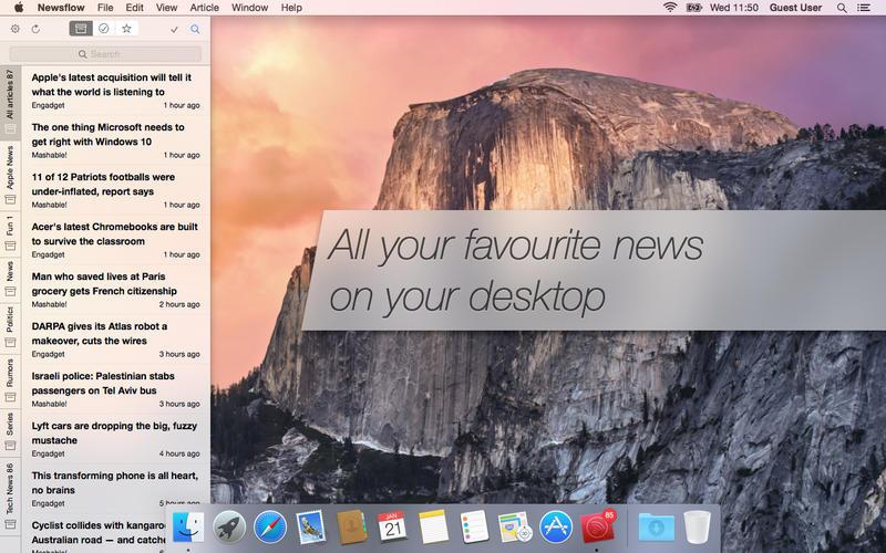 Newsflow 1.4.11 新闻阅读工具