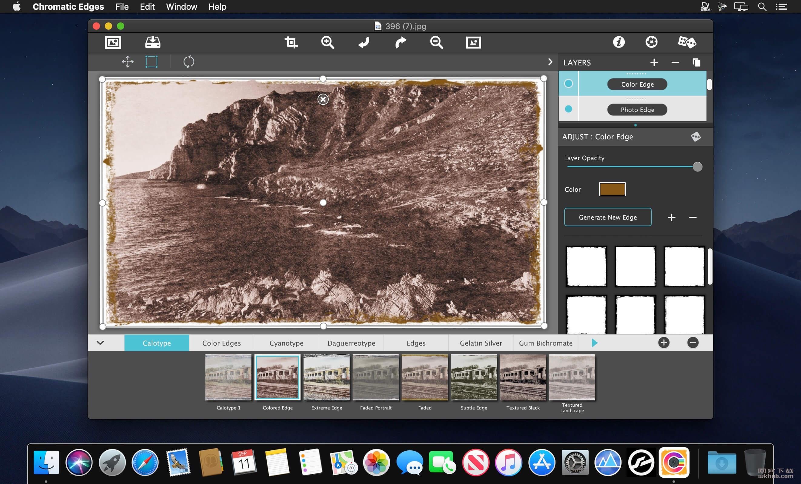 JixiPix Chromatic Edges 1.0.9 复古效果照片编辑软件