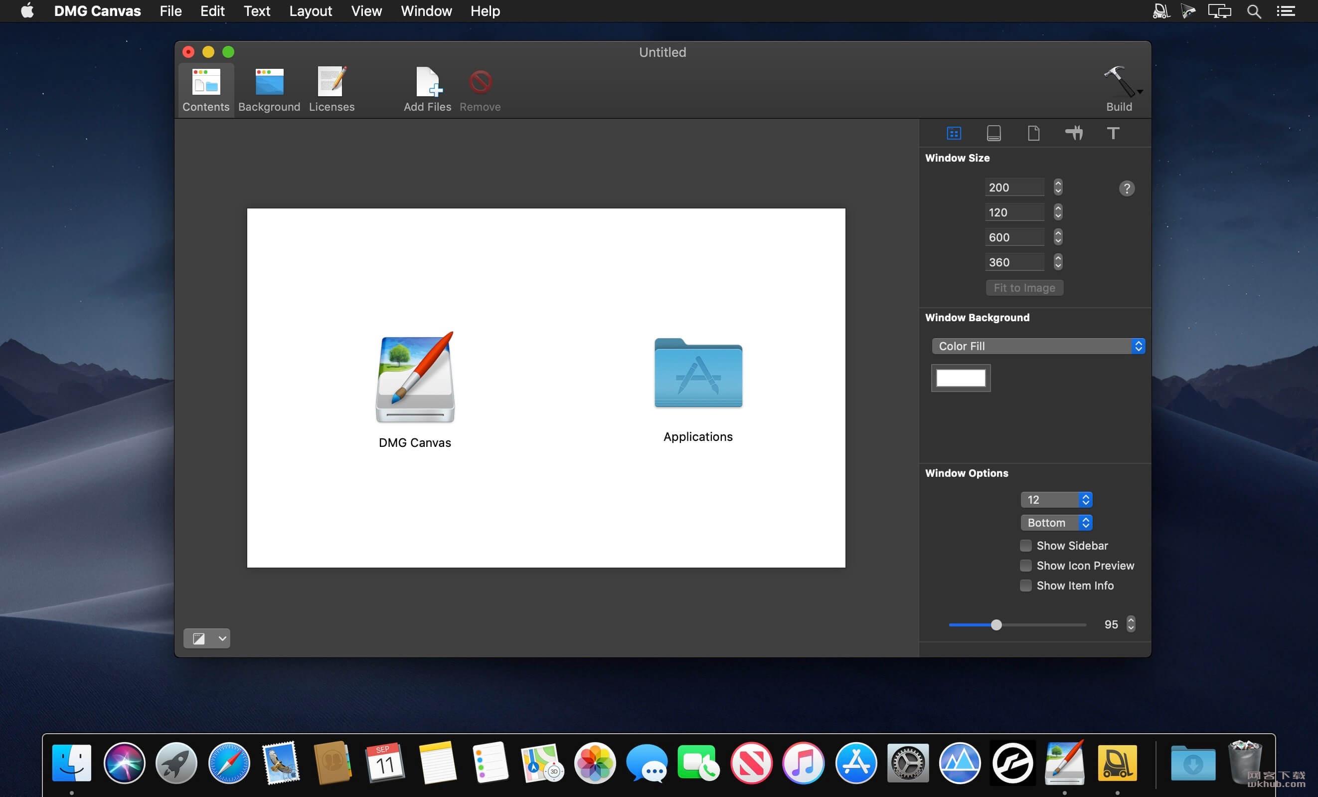DMG Canvas 3.0.9 DMG制作工具