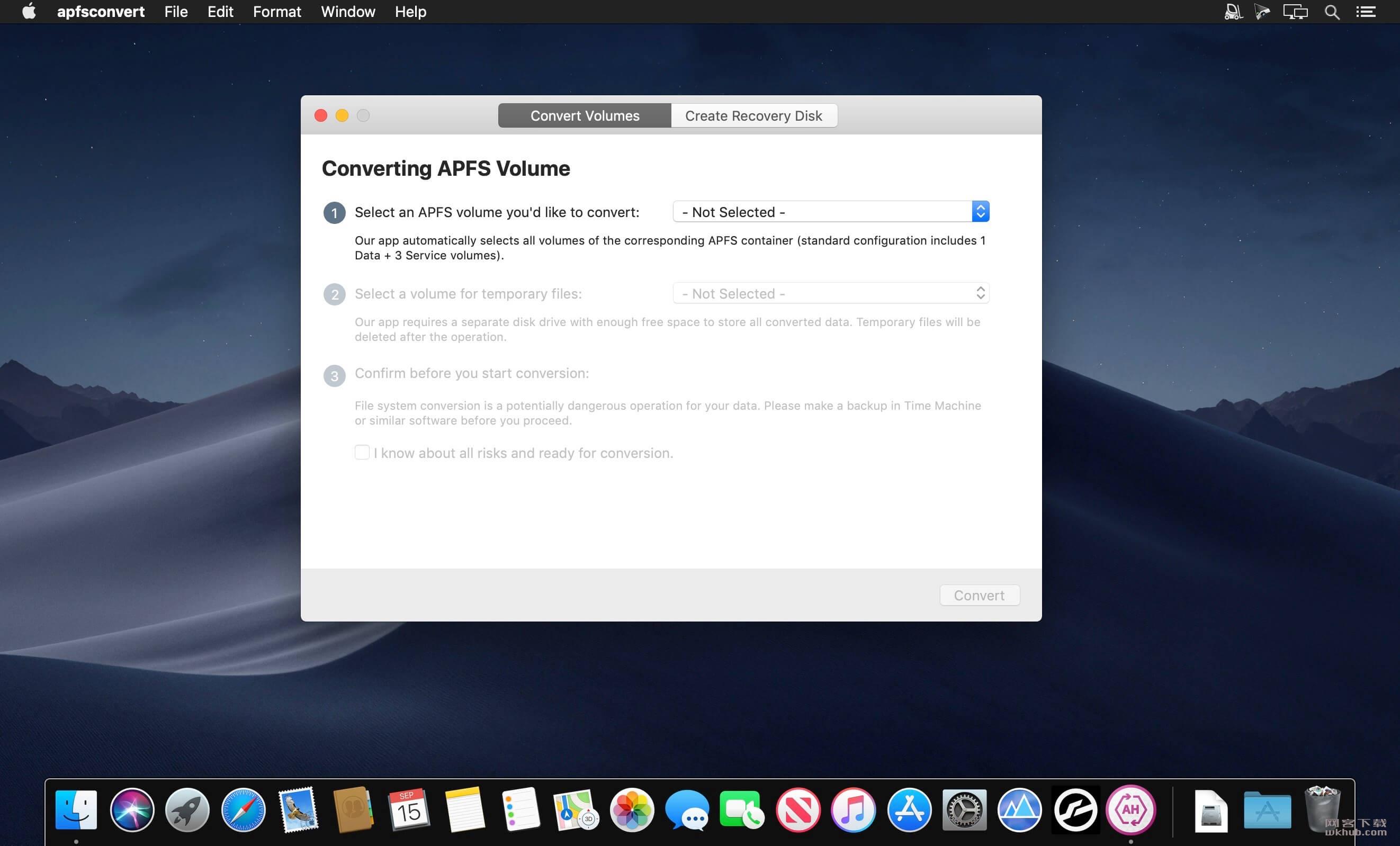 Paragon APFS to HFS+ Converter 1.0 磁盘格式转换工具
