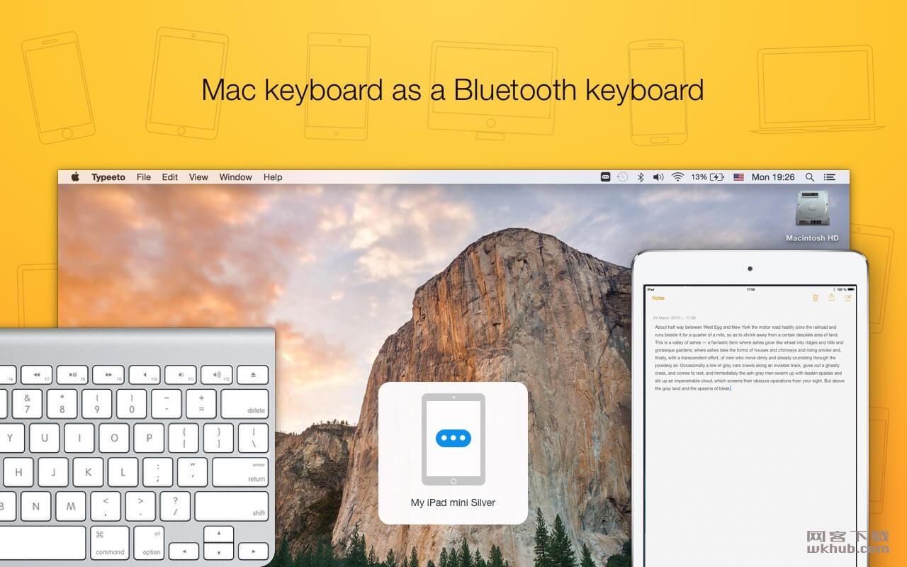 Typeeto 1.5 iDevice蓝牙键盘工具