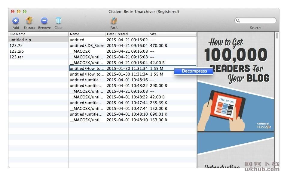 Cisdem Unarchiver 3.0.0 解压缩工具