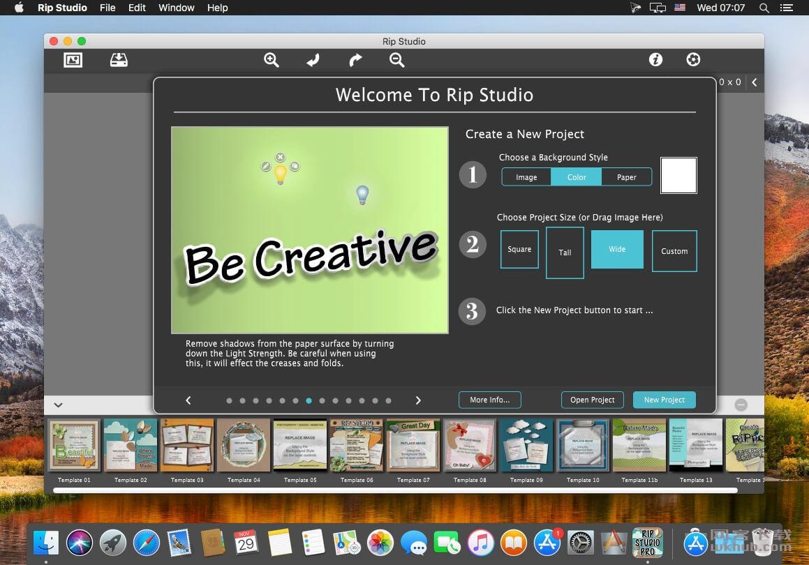 JixiPix Rip Studio Pro 1.1.6 图片撕裂拼贴效果工具
