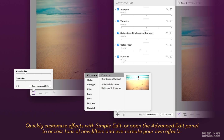 Flare 2.2.7 照片编辑工具