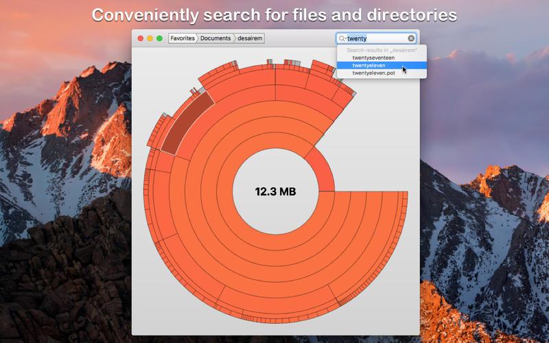 Disk Graph 2.1.17 磁盘文件占用分析工具