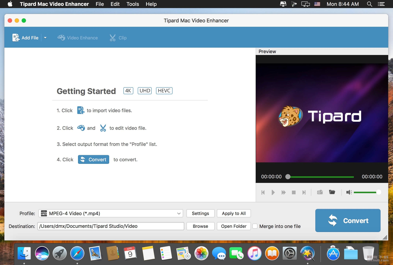 Tipard Mac Video Enhancer 9.1.22 视频质量提高工具