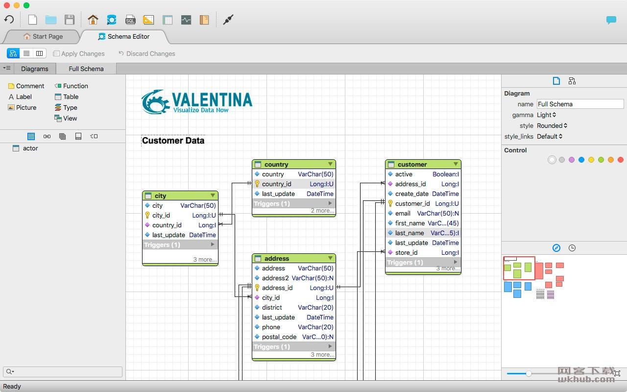 Valentina Studio Pro 9.8.2 数据管理工具