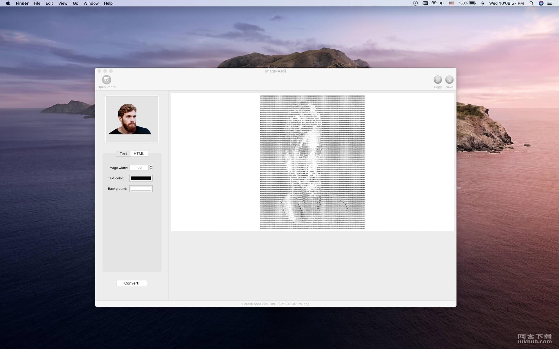 Image-Ascii 2.3 图片转字符画工具