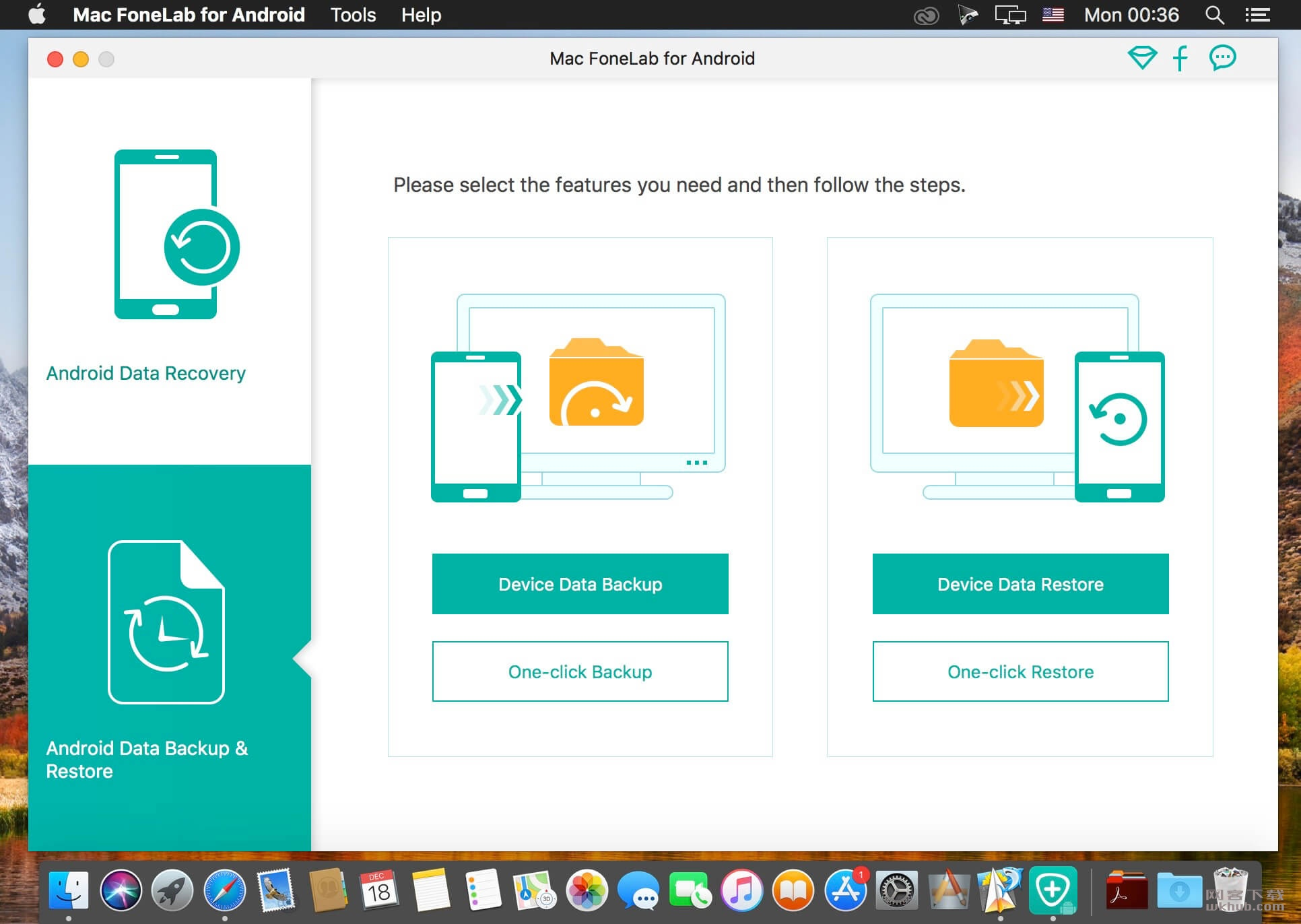 Mac FoneLab for Android 3.1.8.94325 安卓数据恢复工具
