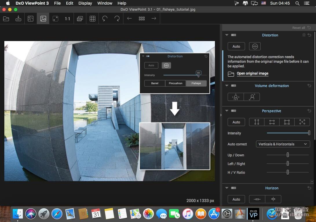 DxO ViewPoint 3.1.15.285 照片校正工具