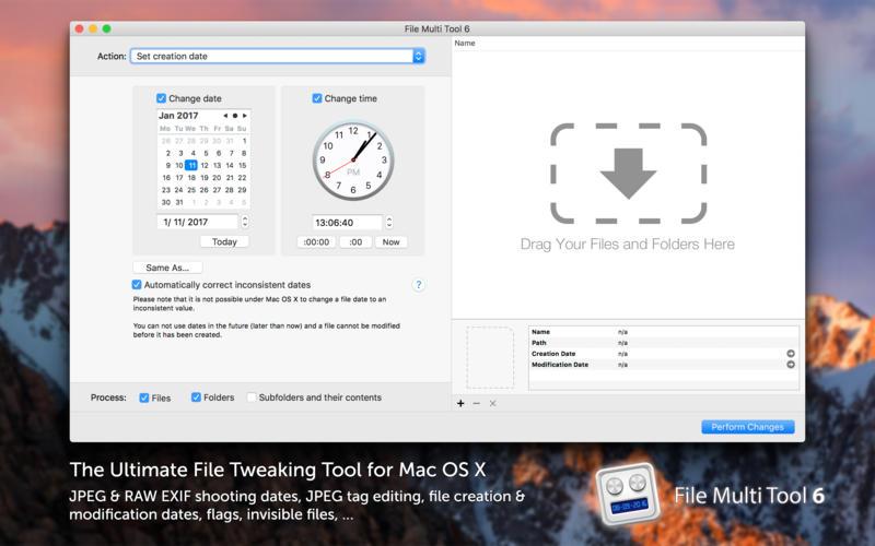 File Multi Tool 6.20 照片元数据调整工具