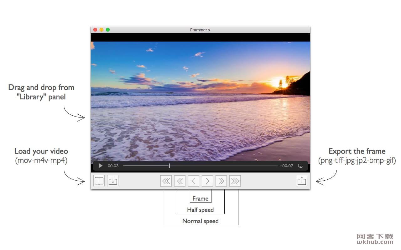 Frammer X 1.11 视频帧提取工具