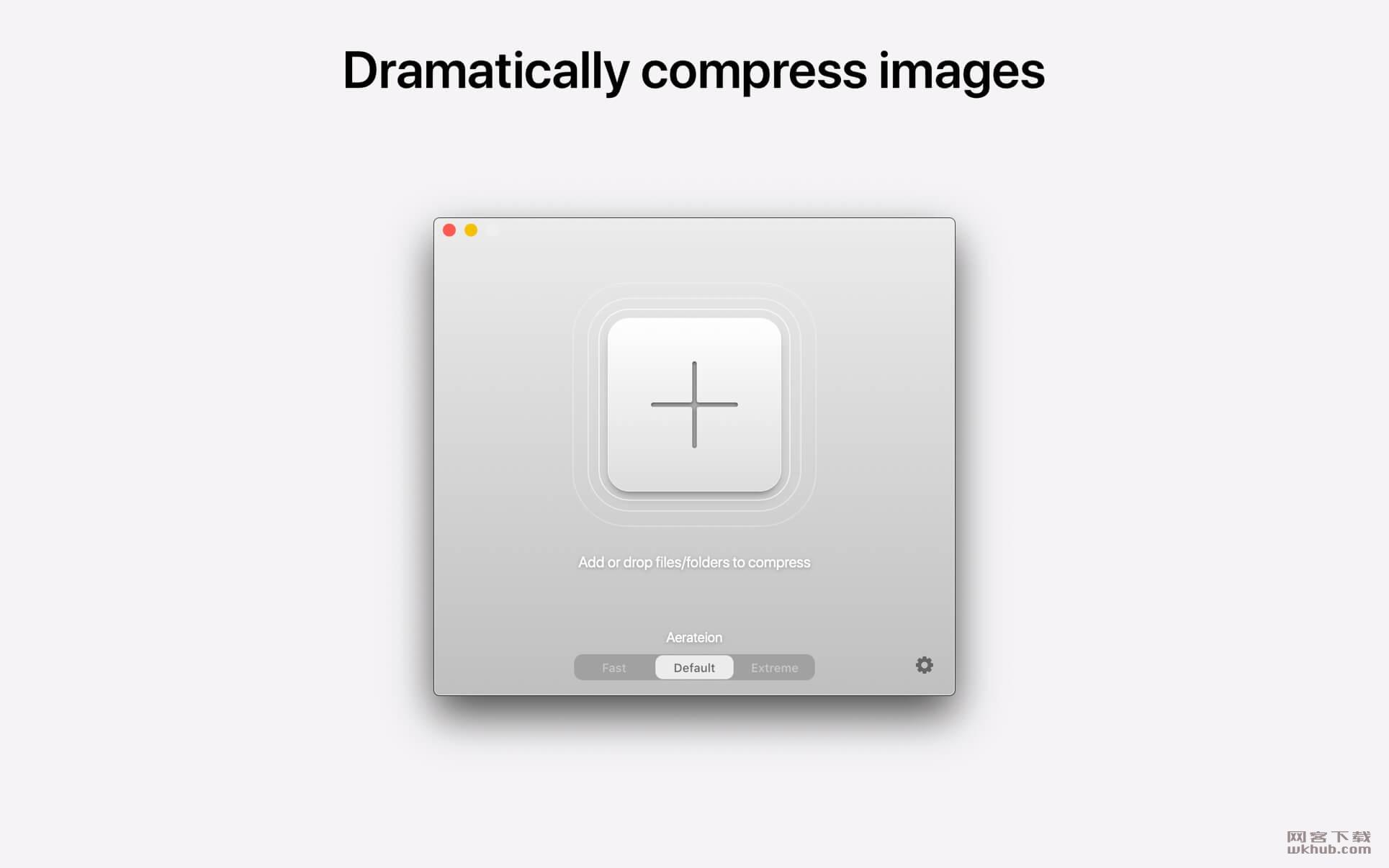 Aerate Pro 2.0.1 图片压缩转换工具