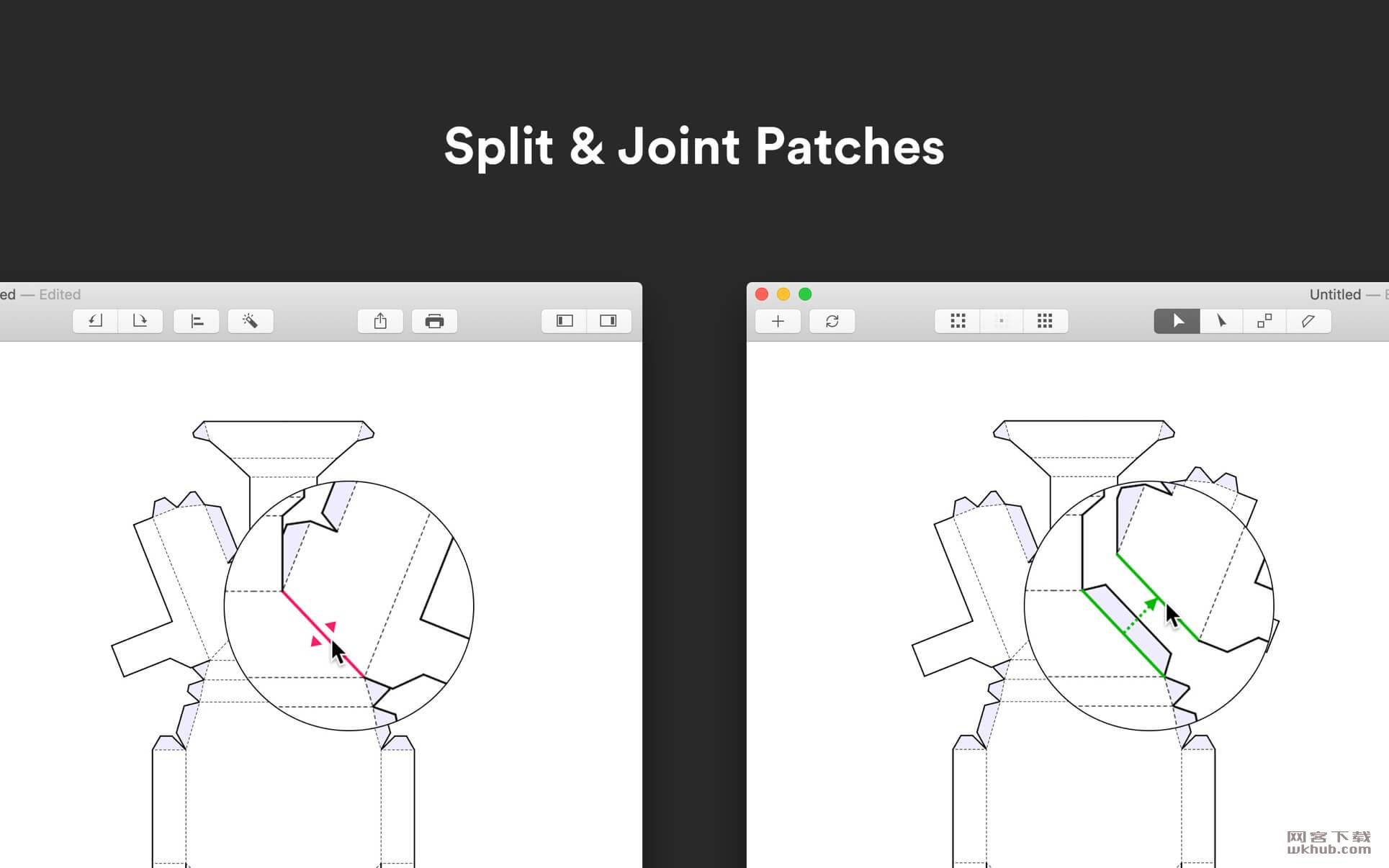 Unfolder 1.9.5 3D模型展开工具