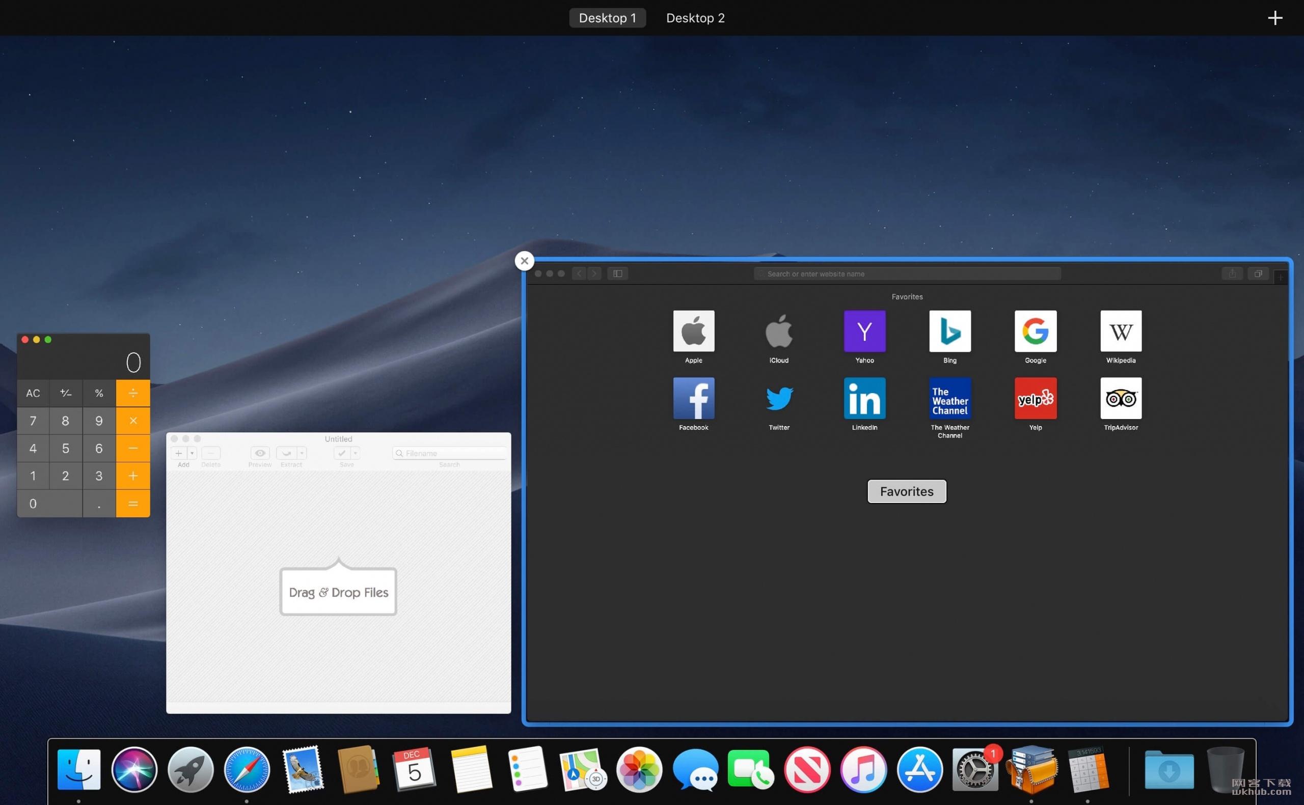 Mission Control Plus 1.13 窗口管理工具