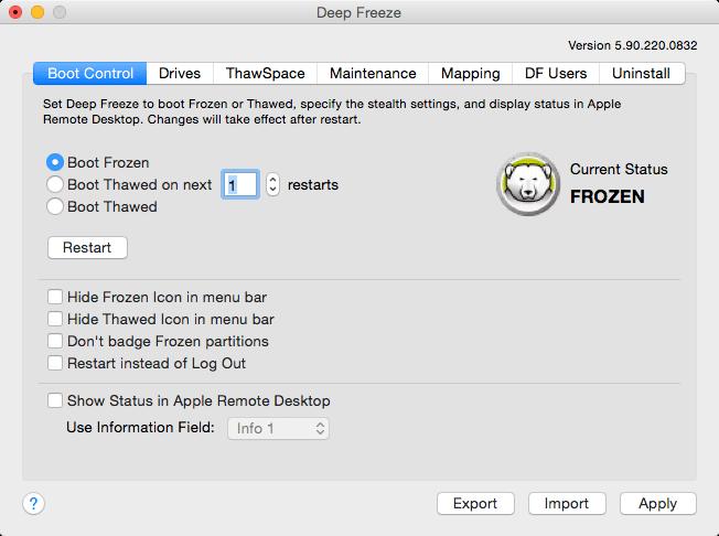 Faronics Deep Freeze 7.20.220.0107 冰点还原系统