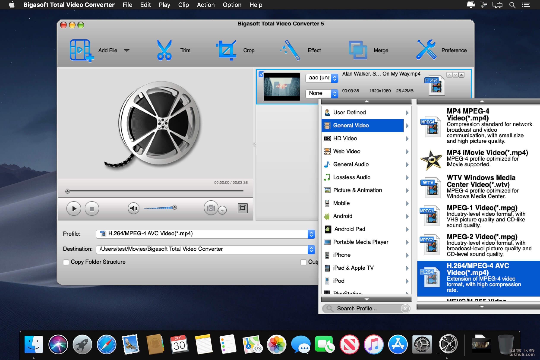 Bigasoft Total Video Converter 5.4.0 视频转换工具