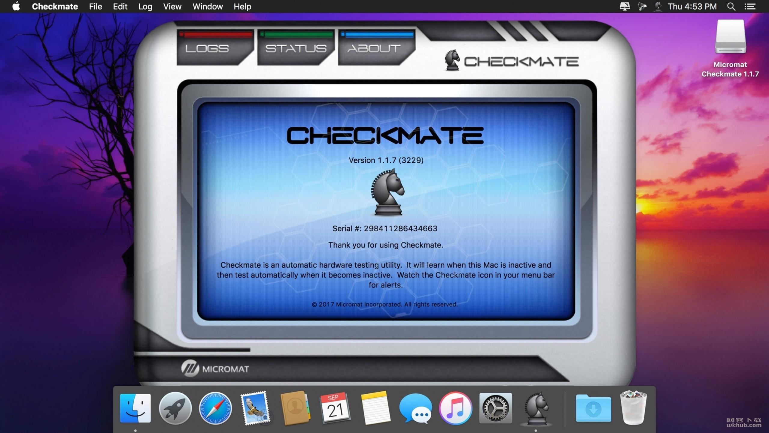 Checkmate 1.1.9 系统监控软件