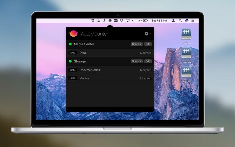AutoMounter 1.6.5 网络共享自动挂载工具