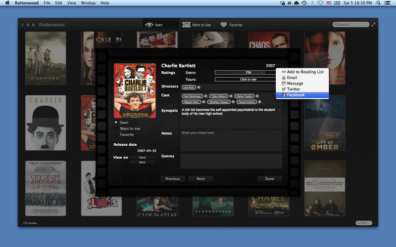 Rottenwood 1.2.5 影片管理工具