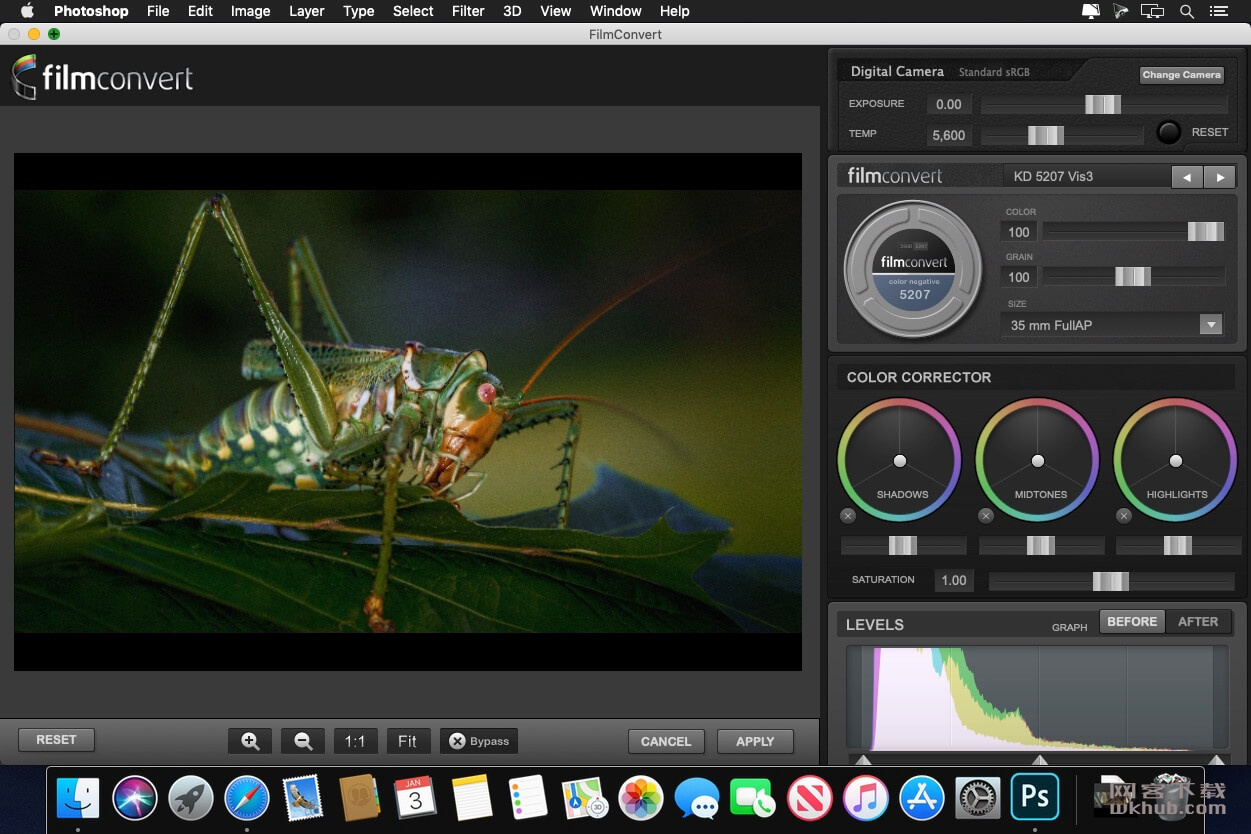 FilmConvert Pro for Photoshop 1.07 PS插件