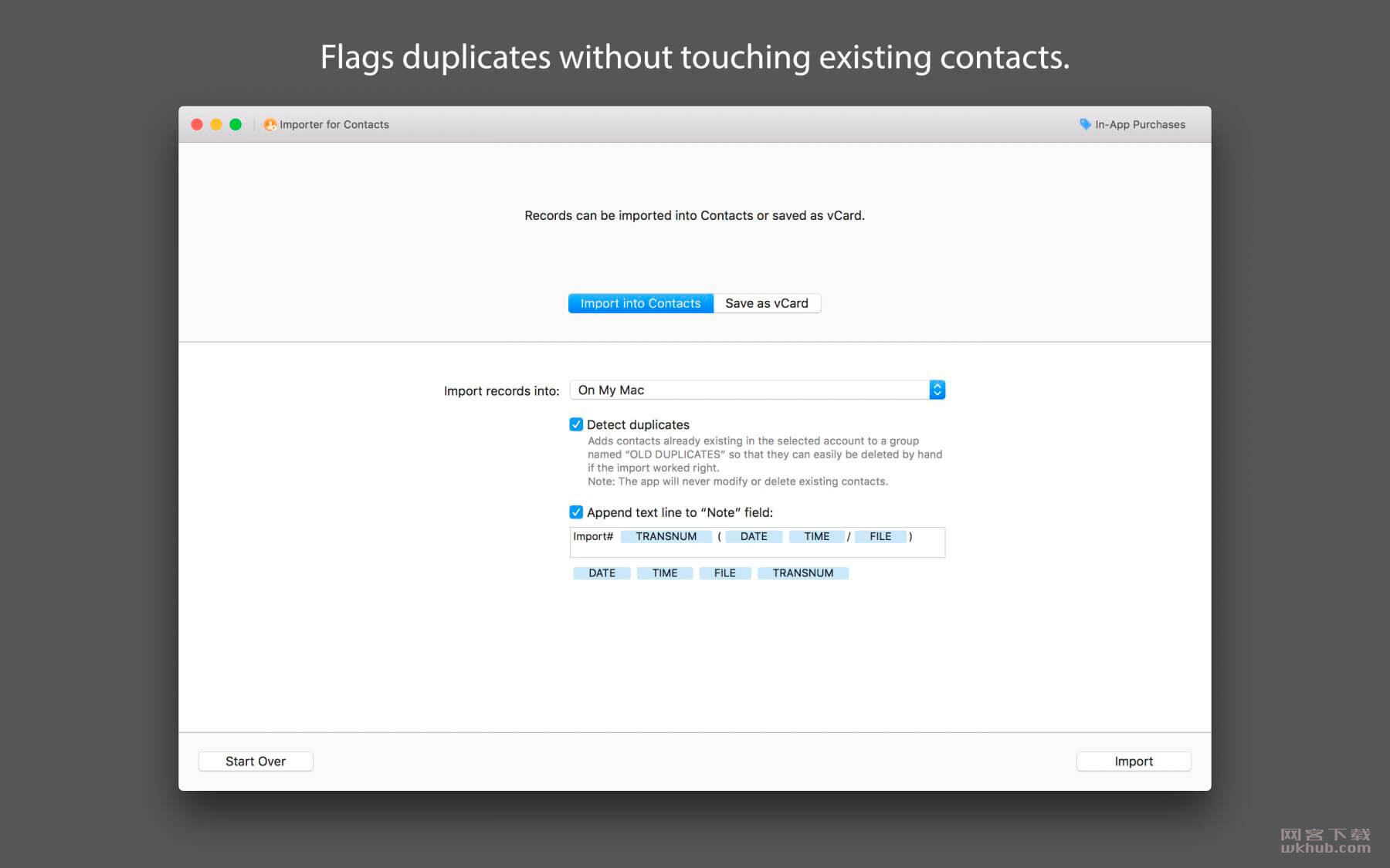 Importer for Contacts 1.5.1 联系人导入工具