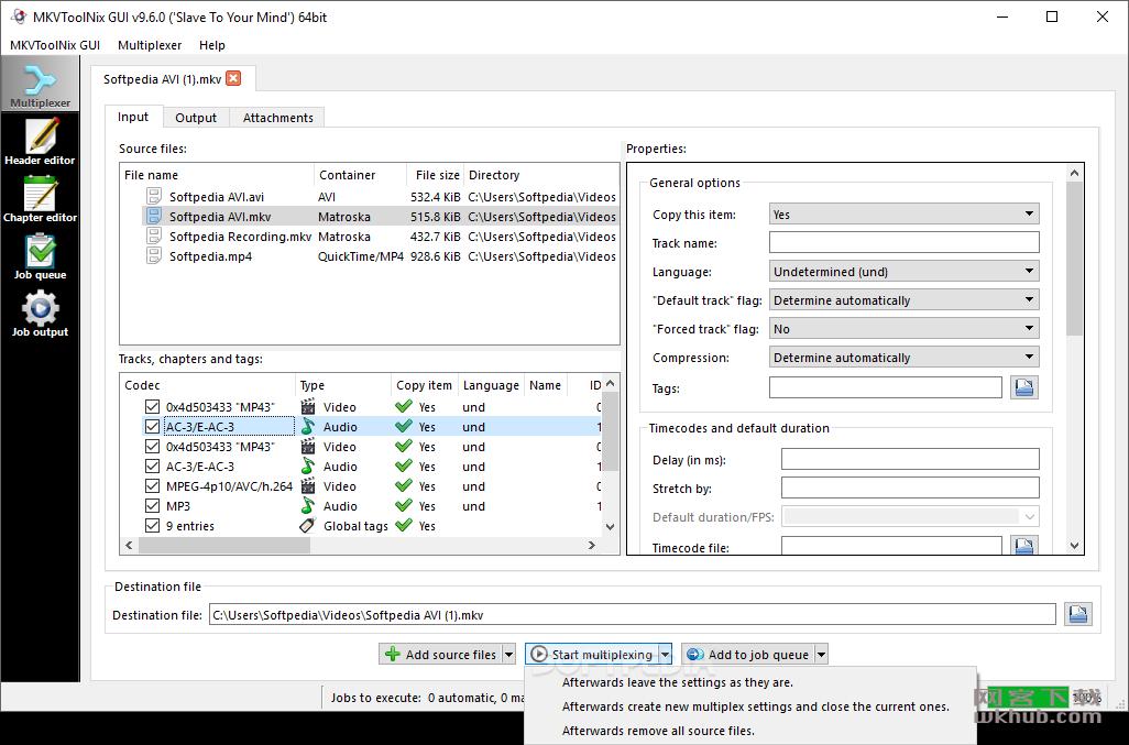 MKVToolNix 42.0.0 MKV编辑工具