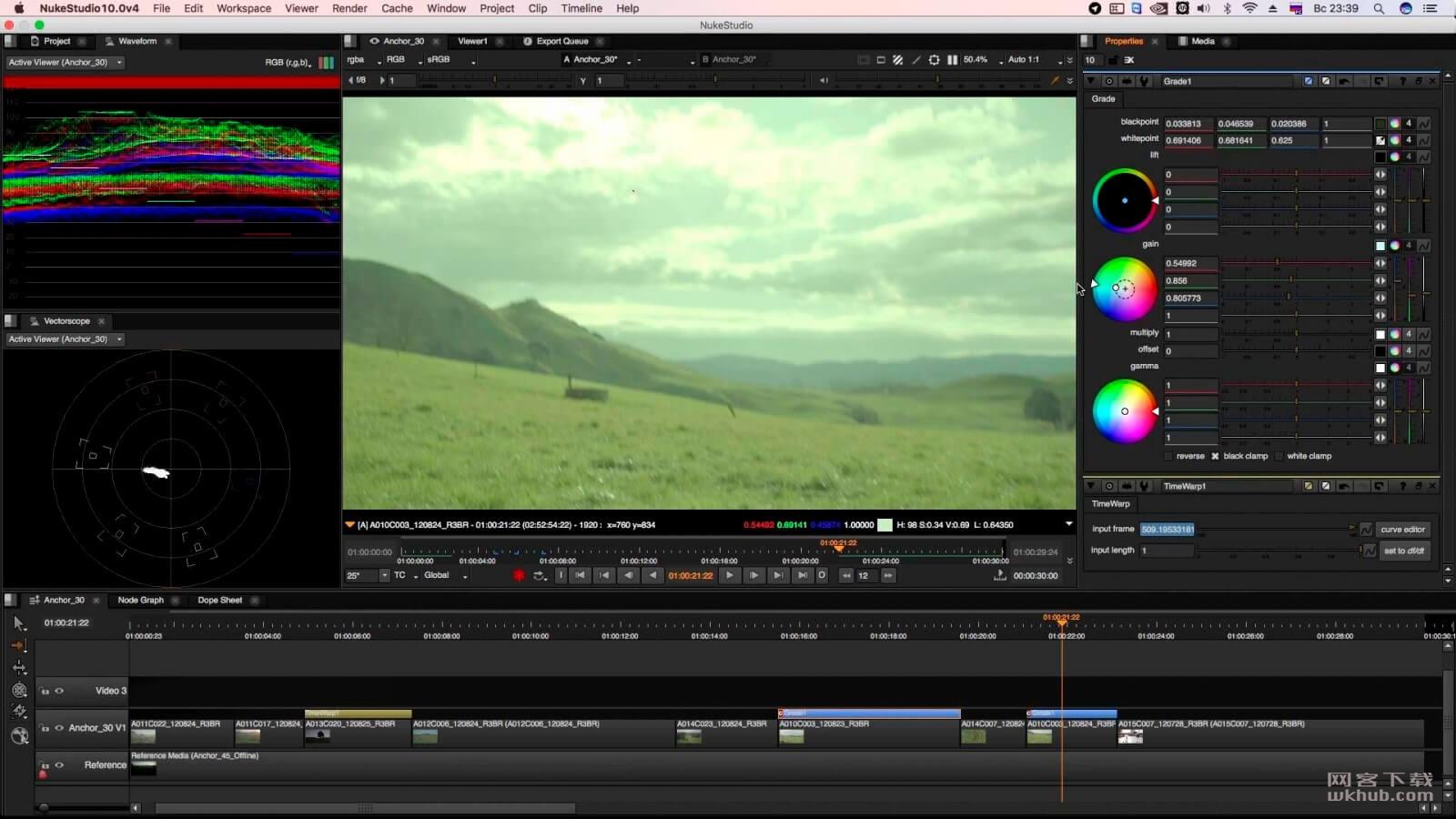 The Foundry Nuke Studio 12.1v1 电影特效制作合成软件
