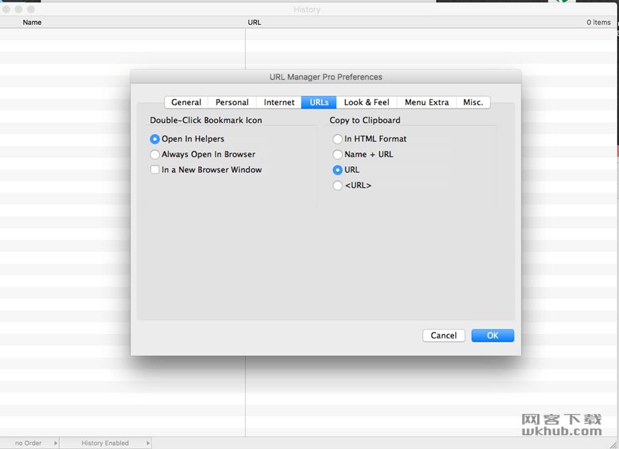 URL Manager Pro 5.1.2 书签管理工具