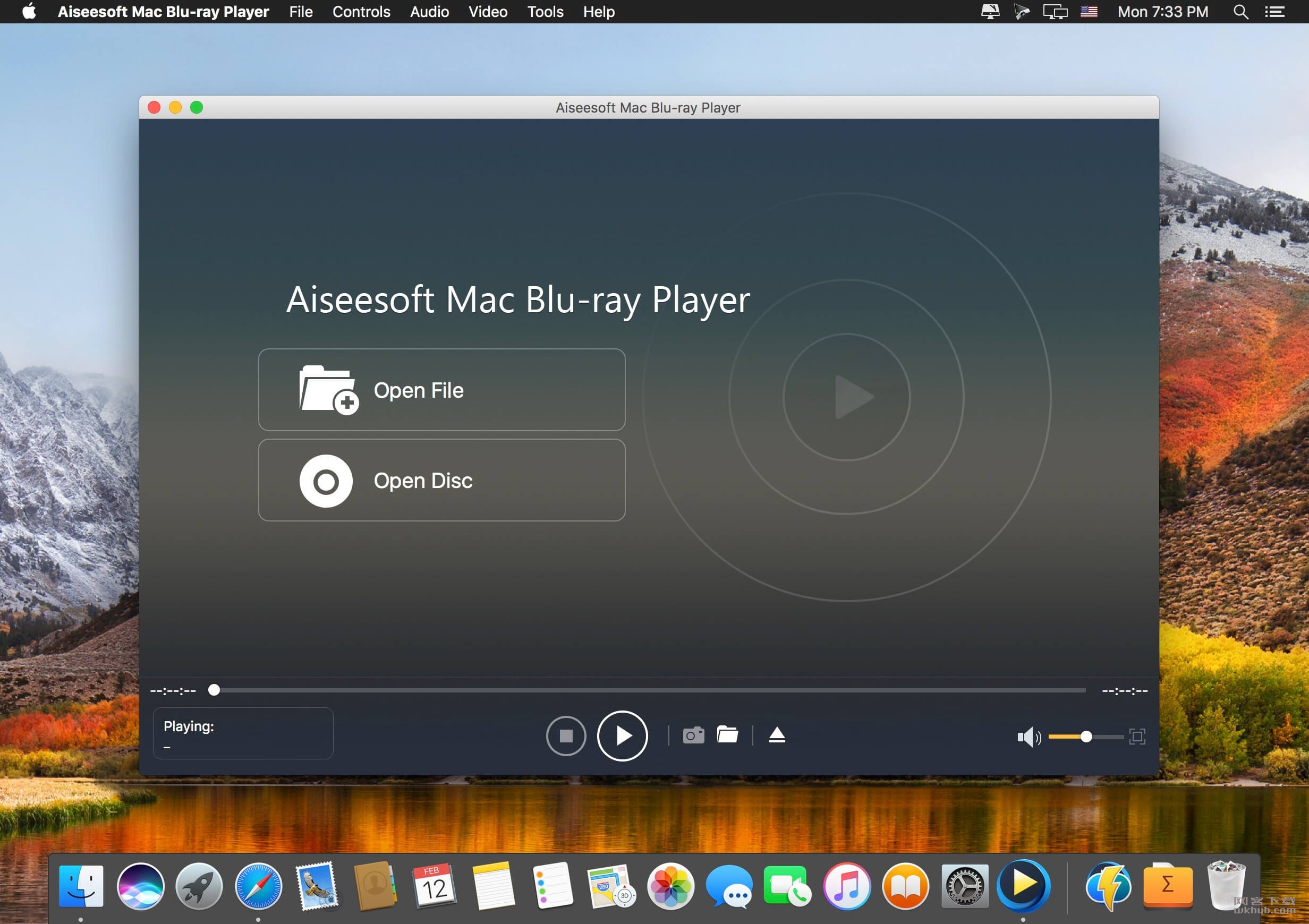 Aiseesoft Mac Blu-ray Player 6.5.12.90040 视频播放工具
