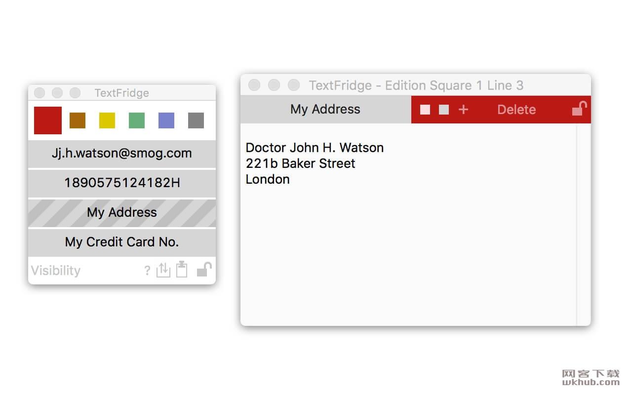 TextFridge 1.2.1 短文本存储工具