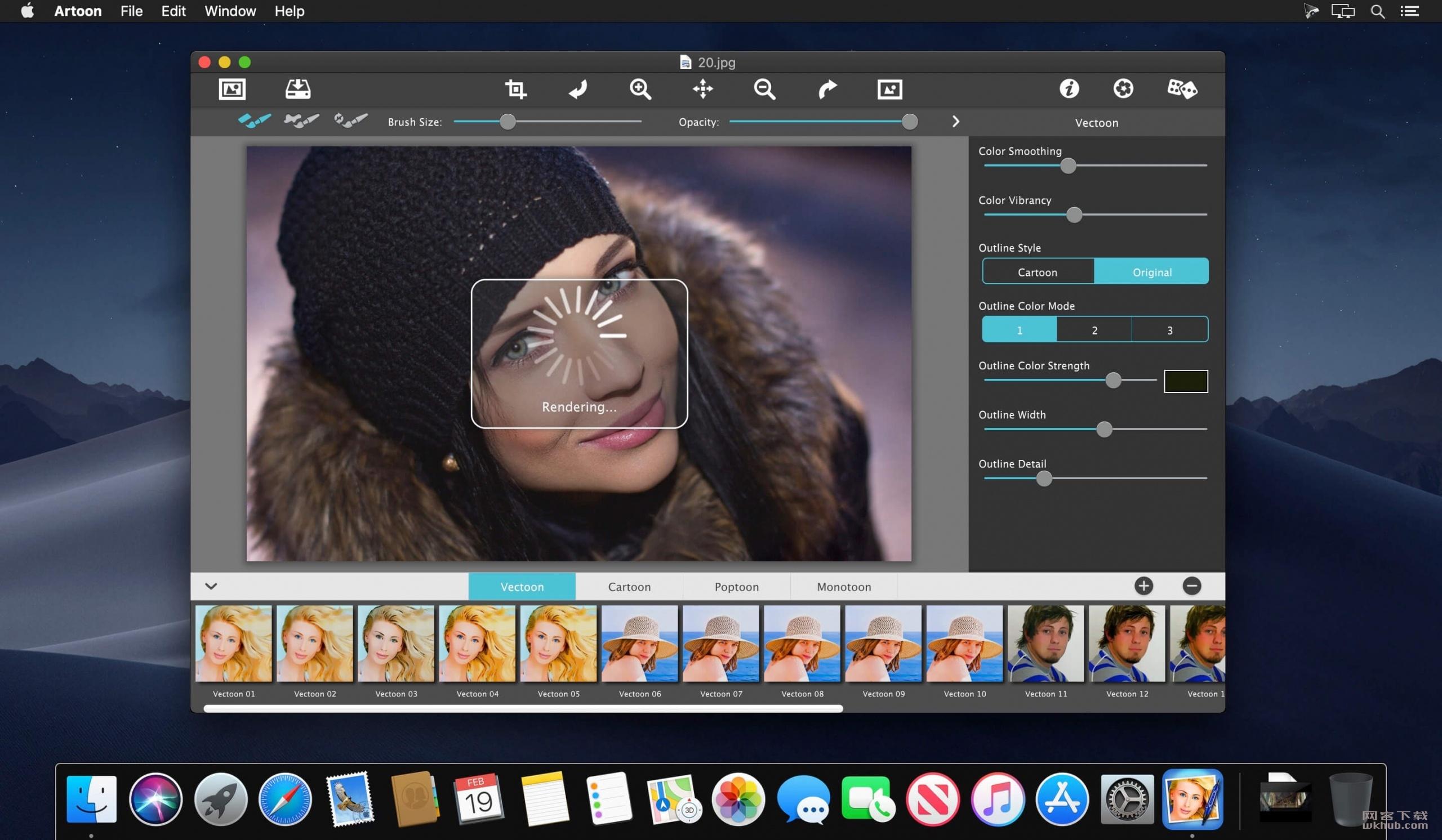 JixiPix Artoon 1.11 照片卡通效果制作工具