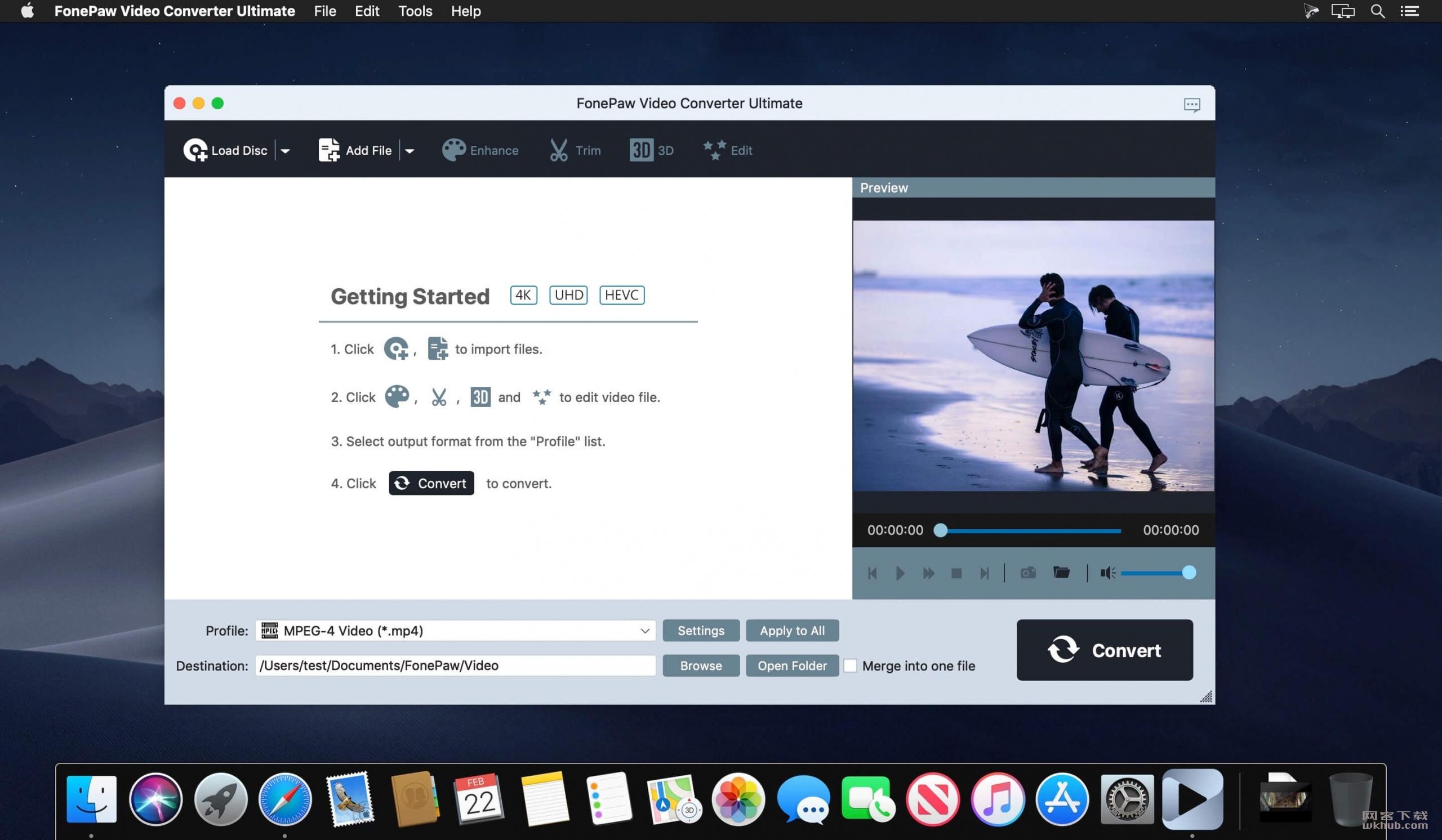 FonePaw Video Converter Ultimate 2.9.0 多功能视频转换工具