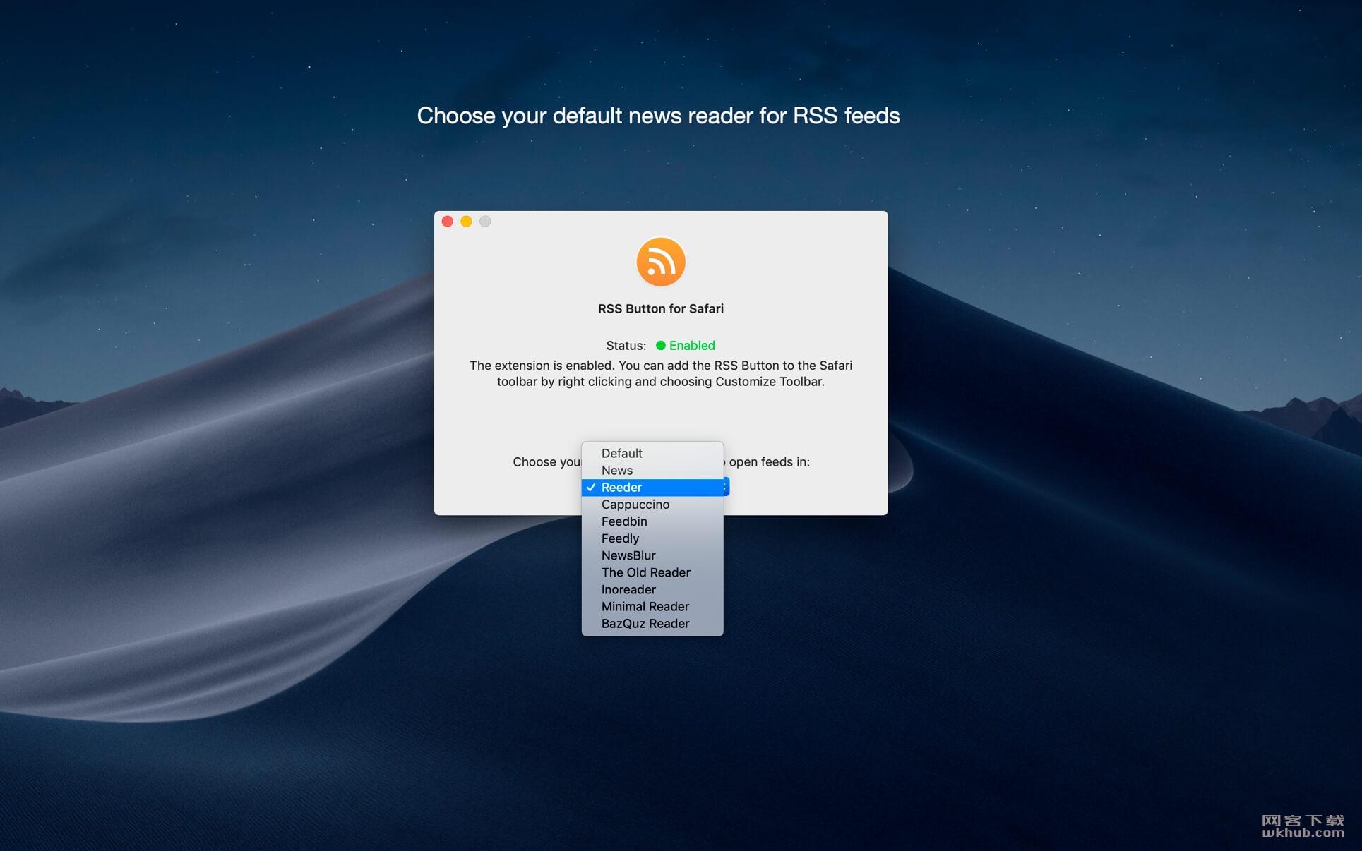 RSS Button for Safari 1.5.2 RSS插件