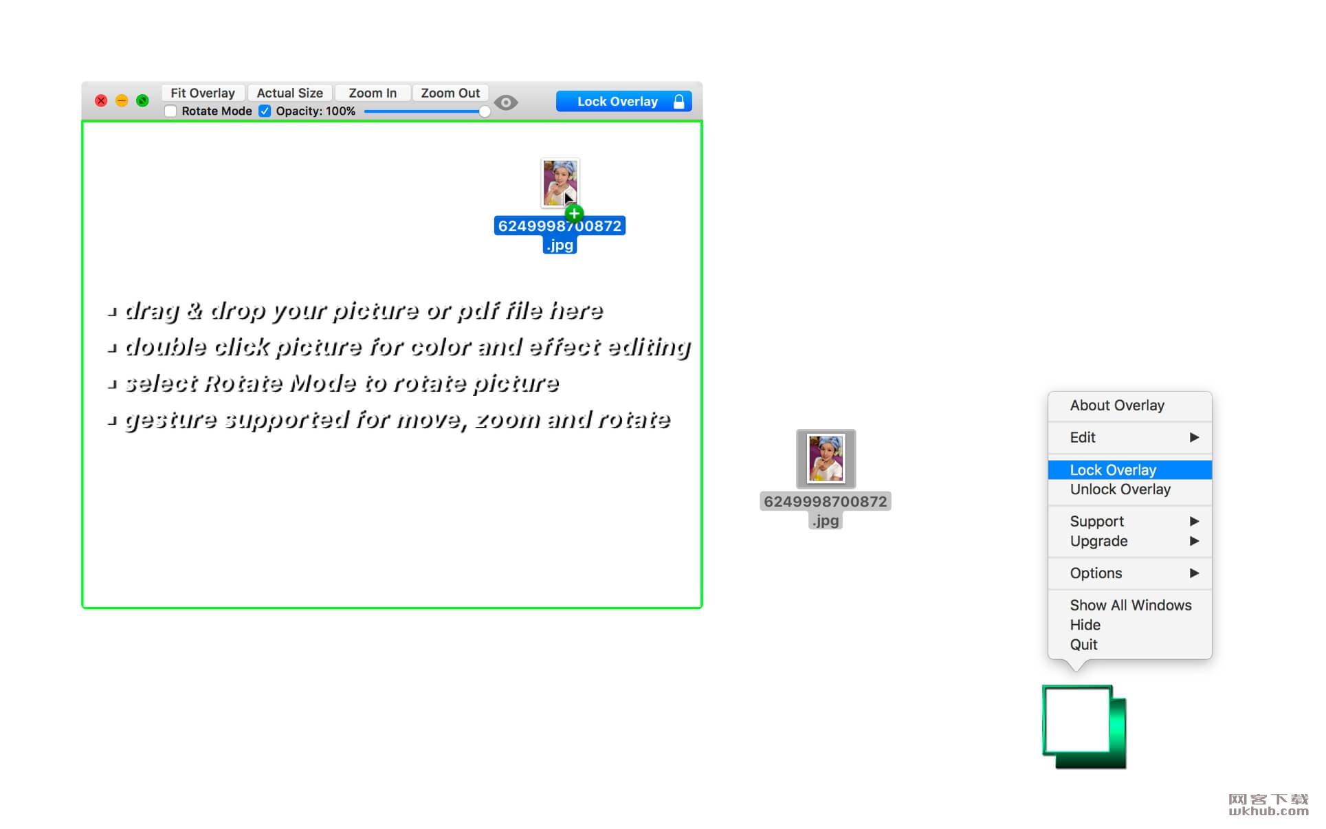 Overlay 3.60 图像和文档透明显示工具