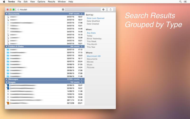 Tembo 2.1.1 文件搜索工具