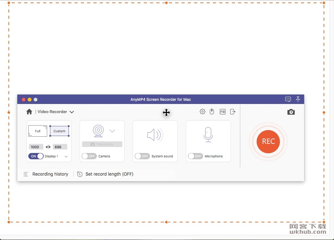 AnyMP4 Screen Recorder 2.0.12 屏幕录制工具